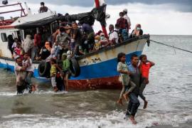 Kapal imigran Rohingya kembali terpantau di perairan Aceh