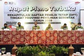 KPU tetapkan DPT Pilkada Jambi sebanyak 2.415.862 pemilih