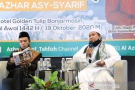 Wabup HSS ikuti bedah buku UAS milad Yayasan Rumah Qur'an Al-Azhar Asy-Syarif