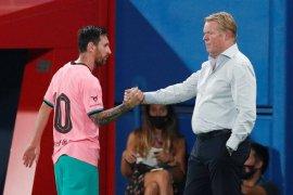 Ronald Koeman bantah Messi sulit ditangani