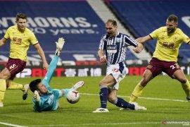 Imbangi West Brom, Burnley memetik poin pertama musim ini