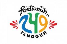 Logo Hari Jadi Ke-249 Pontianak mengusung tema tangguh lawan COVID-19