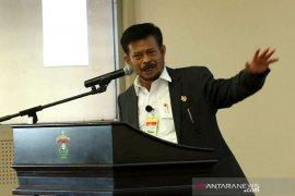Syahrul Yasin Limpo mendorong KKP dapat lakukan percepatan program