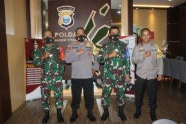 Pangdam XVI/ Pattimura silaturahim ke Kapolda Malut