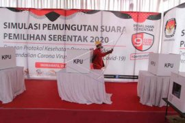 KPU Indramayu pastikan semua tahapan pilkada sesuai protokol kesehatan
