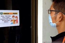 Kantor Wali Kota Sibolga terapkan wajib pakai masker, baru dapat pelayanan