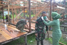 Istri TNI lindungi Satgas TMMD dari COVID-19