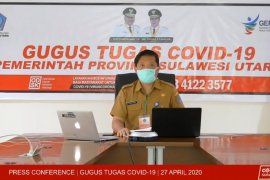 598 warga Sulut positif COVID-19 masih dirawat