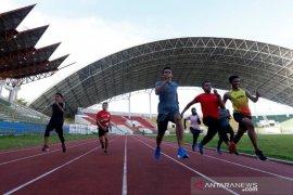 Latihan Atletik Persiapan PON Papua