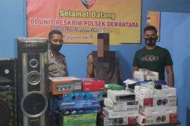 Pencuri spesialis elektronik di Aceh Utara ditangkap polisi
