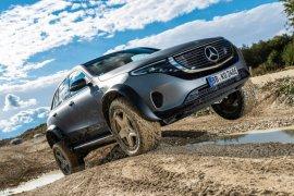 """Mercedes-Benz luncurkan mobil listrik """"off-road"""" EQC"""