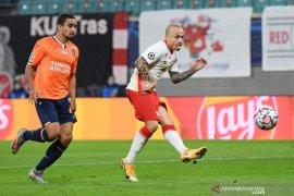 Dua gol yang dicetak Angelino bawa Leipzig atasi Basaksehir 2-0
