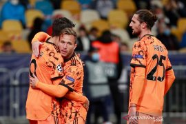 Dwigol Alvaro Morata menangkan Juventus 2-0 di markas Dynamo Kiev