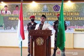 Pemuda Muhammdiyah Tapanuli Selatan periode 2018-2022 dilantik