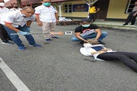 Polres Binjai rekonstruksi kasus pembunuhan