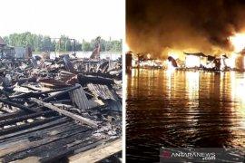 Kebakaran  hanguskan 15 unit rumah warga