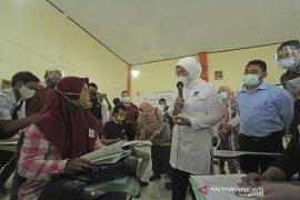 Kunjungan kerja Menaker di Indramayu