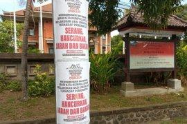 Polisi selidiki brosur ajakan penjarahan saat unjuk rasa di Bali