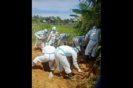 Pimpinan BRI Putussibau meninggal, pemakaman secara protokol kesehatan
