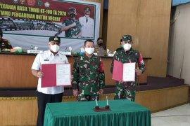 Terima hasil TMMD ke 109, Bupati Shabela: Wujud nyata bakti TNI