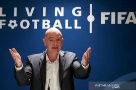 "Infantino klaim ""pandemi"" lima tahun silam buat FIFA miliki antibodi"