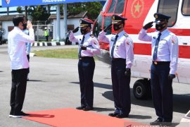 Presiden Jokowi ke Sultra resmikan pabrik gula dan jembatan