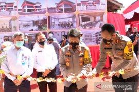 Kapolda Kalsel resmikan Aula Sanika Satyawada Polres Kotabaru