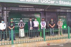 Selter ojol di Stasiun Bogor resmi dioperasikan