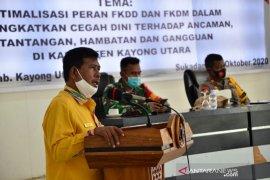 Bupati Citra harap FKMD ikut ciptakan ketertiban umum