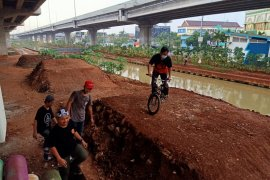 """Pemkot Jaktim bangun lintasan sepeda """"pump track"""" pertama di Jabodetabek"""