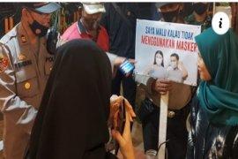 Operasi yustisi di Tebing Tinggi, puluhan pengunjung cafe terciduk tidak pakai masker