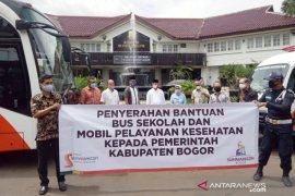Kabupaten Bogor terima bantuan bus sekolah dan bus layanan kesehatan