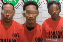 Polres HST ciduk tiga tersangka narkoba di Wawai Gardu
