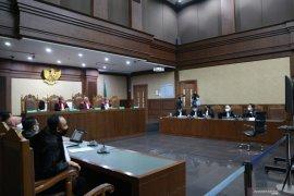 Jaksa ungkap penggunaan uang  Rp45,726 miliar didiga suap oleh bekas Sekretaris MA Nurhadi dan menantu
