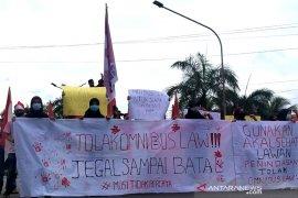 GMNI Bengkulu sampaikan 10 tuntutan tolak Omnibus Law