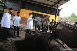 Pemkot Tangerang uji coba buat sumber energi terbarukan biomassa dari sampah