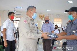 BPBD Kota Tangerang salurkan 361.500 masker untuk memutus penyebaran COVID-19