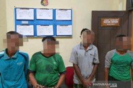 Polisi tangkap dua toke diduga pemodal tambang emas ilegal di Nagan Raya