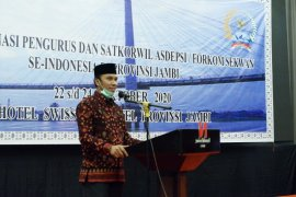 Ketua DPRD Jambi berharap rakor Sekwan se-Indonesia dapat mengoptimalkan kerja DPRD