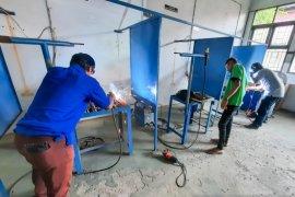 Dinas Perindustrian Samarinda gelar pelatihan las