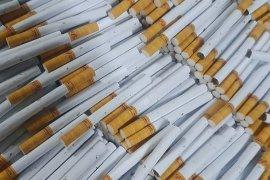 Bea Cukai Malang sita ratusan ribu batang rokok ilegal