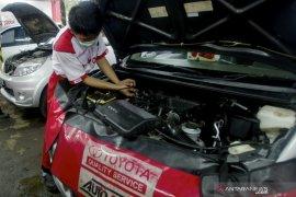 Halobeng layanan virtual servis mobil Toyota