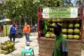 Gelar operasi pasar, Pertamina pastikan stok LPG 3 Kg di Ciamis aman