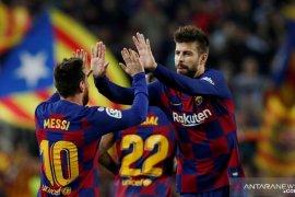 Pique sarankan nama Lionel Messi dipakai untuk stadion baru