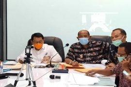 Wakil Bupati Langkat pimpin rapat melalui virtual