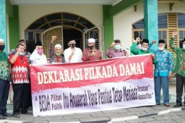 MUI dan Ormas Islam Simalungun deklarasi Pilkada Damai