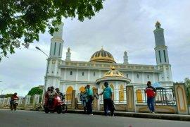 Jasa Raharja-PT PNM bagikan 500 masker di Bangka Tengah