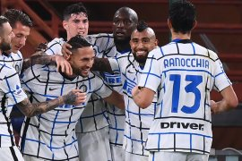 Liga Italia: Inter Milan menang dua gol tanpa balas di markas Genoa