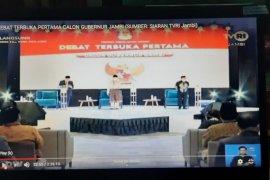 KPU Provinsi Jambi gelar debat perdana antar calon gubernur