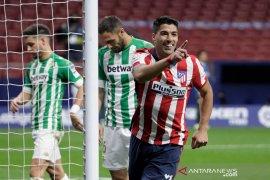 Suarez  lanjutkan kesuburan, Atletico Madrid bungkam Real Betis 2-0